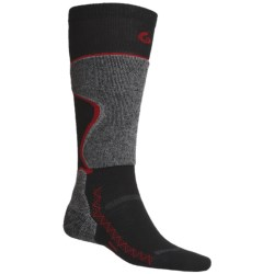Point6 Ski Pro Lightweight Ski Socks - Merino Wool, Over-The-Calf (For Men and Women)