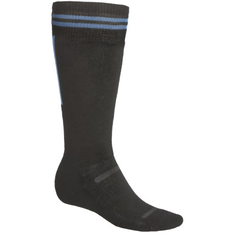 Point6 Snowboard Retro Lightweight Socks - Merino Wool, Over-the-Calf (For Men and Women)
