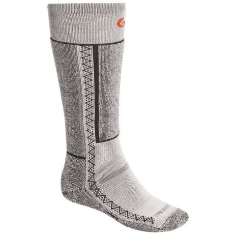 Point6 Lightweight Snowboard Socks - Merino Wool Blend, Over-the-Calf (For Men and Women)