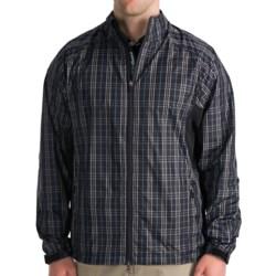 Zero Restriction Plaid Windshirt (For Men)