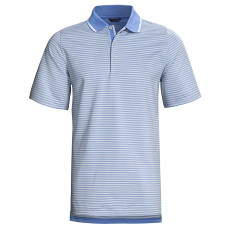 Zero Restriction Graeme Stripe Polo Shirt - Short Sleeve (For Men)