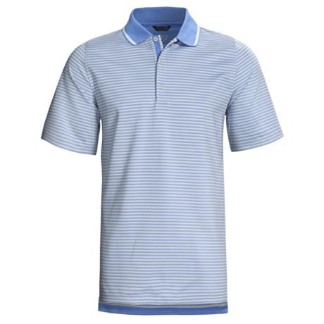 Zero Restriction Graeme Stripe Polo Shirt - Short Sleeve (For Men)
