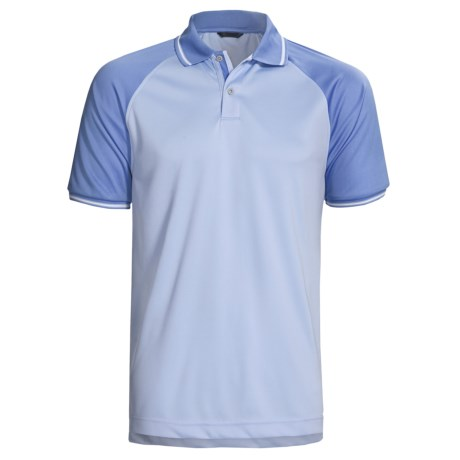 Zero Restriction Cooperstown Polo Shirt - Raglan Short Sleeve (For Men)