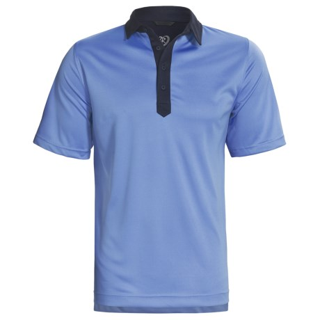 Zero Restriction Color-Block Polo Shirt - Short Sleeve (For Men)
