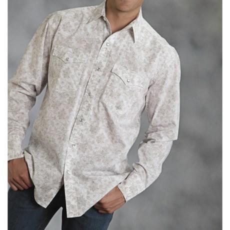 Roper Amarillo Paisley Print Shirt - Long Sleeve (For Men)
