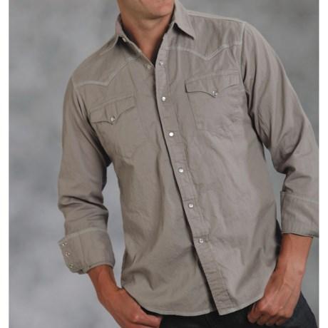 Roper Bedford Western Shirt - Long Sleeve (For Men)