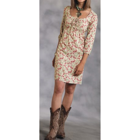 Roper Legends of the West Dress - 3/4 Sleeve (For Women)