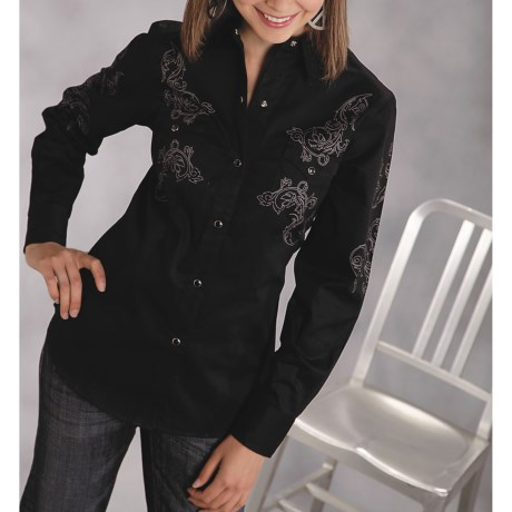 Roper Old West Shirt (For Women)