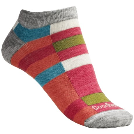 Goodhew Color Block Socks - Below the Ankle (For Women)