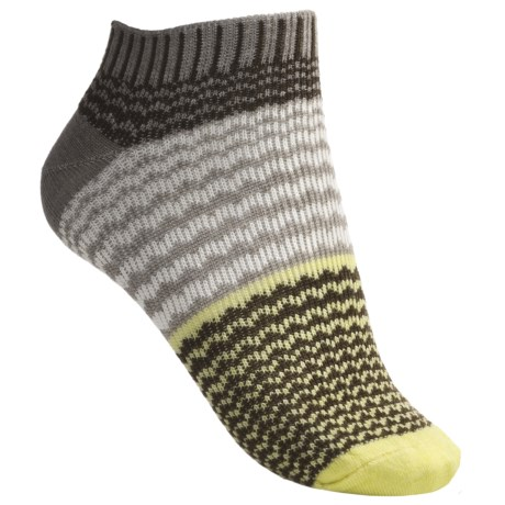Goodhew Ripple Jacquard Socks - Ankle (For Women)
