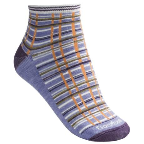Goodhew Madras Socks - Ankle (For Women)