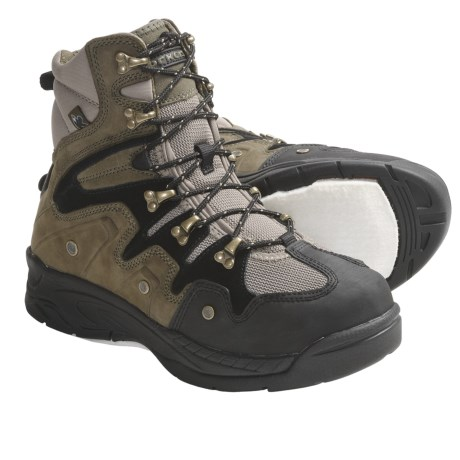 Korkers Streamborn Wading Boots - Trail Lug Soles, Felt Soles (For Men and Women)