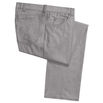 Corbin Wool-Cashmere Flannel Pants - 5-Pocket (For Men)