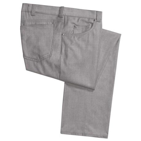 Corbin Wool-Cashmere Flannel Pants - 5-Pocket (For Men)