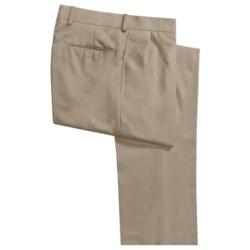 Corbin Worsted Wool Dress Pants - Forward Pleats (For Men)