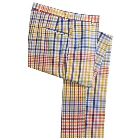 Corbin Seersucker Pants - Cotton (For Men)