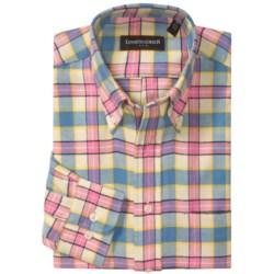 Kenneth Gordon Brushed Cotton Sport Shirt - Long Sleeve (For Men)