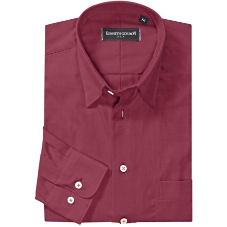 Kenneth Gordon Cotton Sport Shirt - Long Sleeve (For Men)