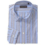 Kenneth Gordon Stripe Sport Shirt - Spread Collar, Long Sleeve (For Men)