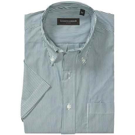 Kenneth Gordon Stripe Sport Shirt - Long Sleeve (For Men)