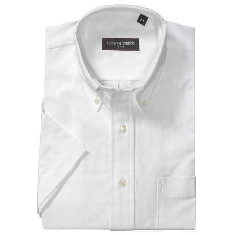 Kenneth Gordon Pullover Shirt - Button-Down Collar, Short Sleeve (For Men)