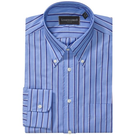 Kenneth Gordon Stripe Dress Shirt (For Men)