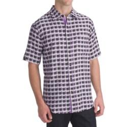 Nat Nast Breezin Silk Twill Camp Shirt -Short Sleeve (For Men)