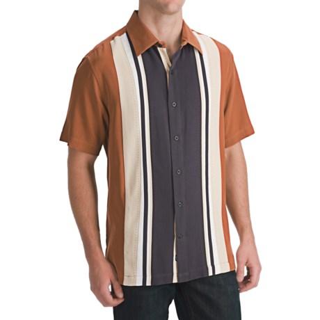 Nat Nast The Duke Camp Shirt - Silk Twill, Short Sleeve (For Men)