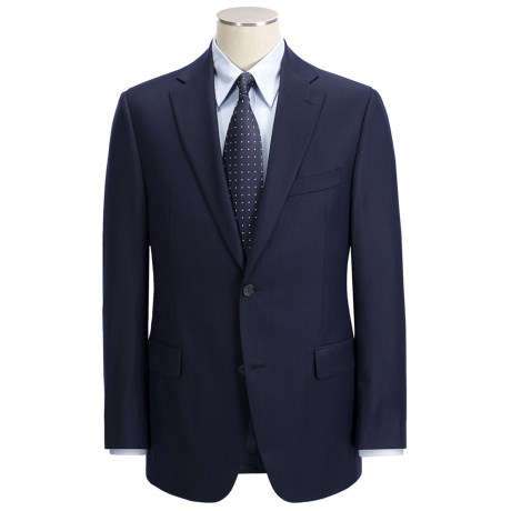 Jack Victor Slim Jim Stripe Suit - Loro Piana Wool (For Men)