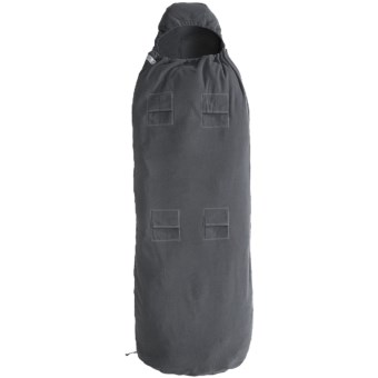 Toasty Liner Midweight Fleece Sleeping Bag Liner - Rectangular, Mateable