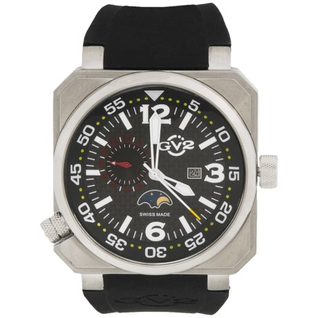 GV2 by Gevril XO Submarine Watch - Rubber Strap