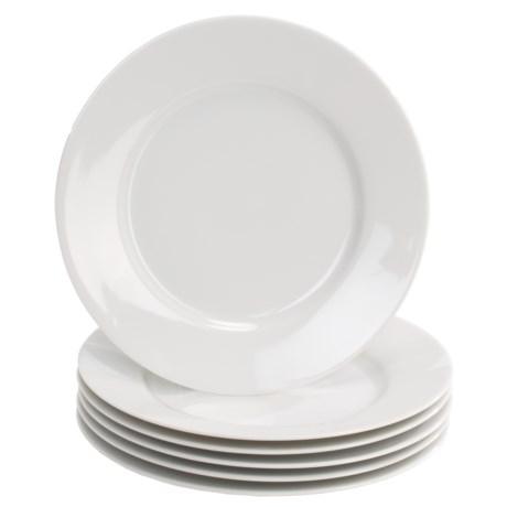 BIA Cordon Bleu Limoges Dinner Plates - Porcelain, Set of 6