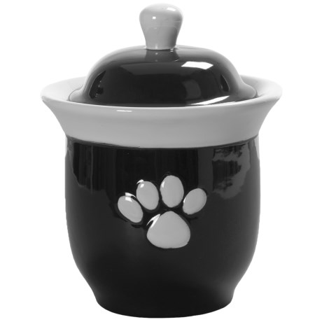 BIA Cordon Bleu Paw Print Treat Jar