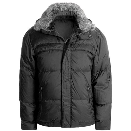 Marc New York by Andrew Marc Arctic Ultra Down Jacket - Rabbit Fur Collar (For Men)