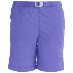 White Sierra Hanalei Shorts - UPF 30 (For Girls)