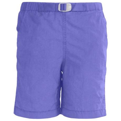 White Sierra Hanalei Shorts - UPF 30 (For Girls)