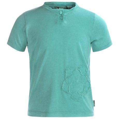 White Sierra Sugarloaf T-Shirt - Short Sleeve (For Girls)