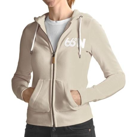 66° North Logn Hoodie Sweatshirt (For Women)