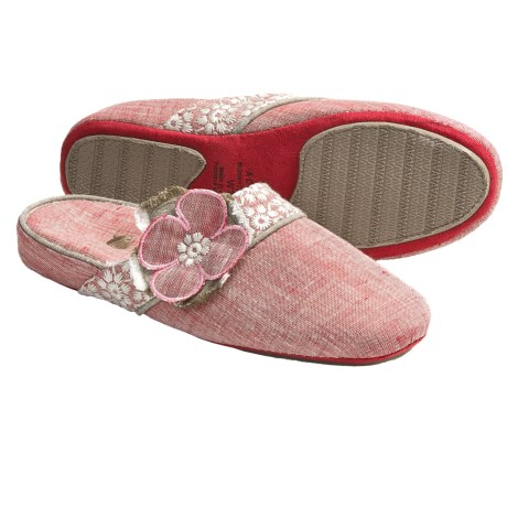 Acorn Grace Scuff Slippers (For Women)