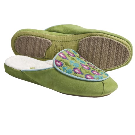 Acorn Mara Scuff Slippers - Nubuck (For Women)