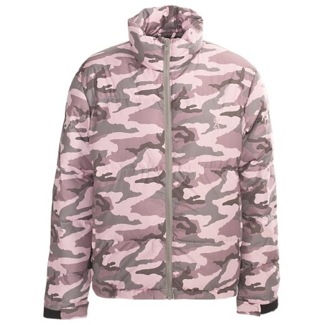 Browning Pink Camo Down Jacket - 650 Fill Power (For Women)