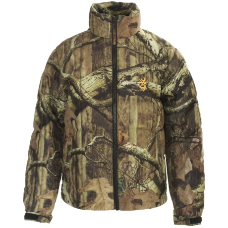 Browning Down Camo Jacket - 500 Fill Power (For Kids and Youth)