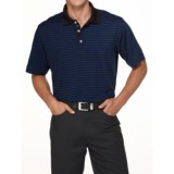 Callaway Chev Stripe Polo Shirt - UPF 15+, Short Sleeve (For Men)