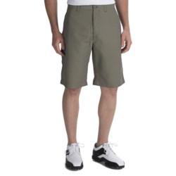 Callaway Gingham Plaid Check Shorts (For Men)