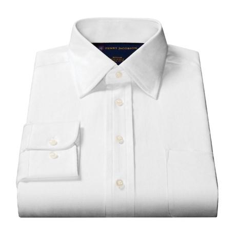 Henry Jacobson Striped Dress Shirt - Long Sleeve (For Men)