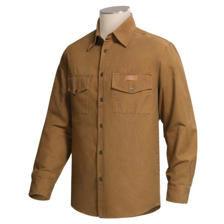 Dickies Canvas Overshirt - Long Sleeve (For Men)
