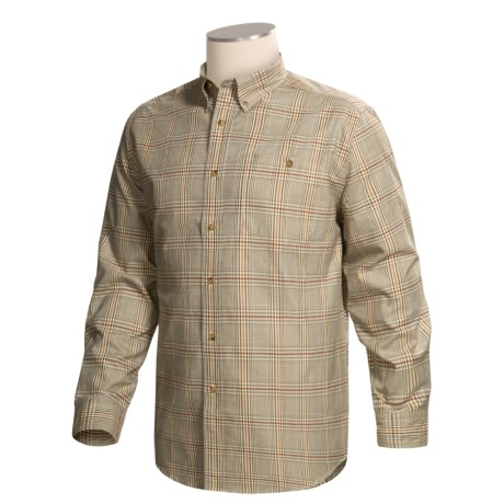Xxl is xxxl review of orvis signature twill shirt long for Orvis men s shirts tall
