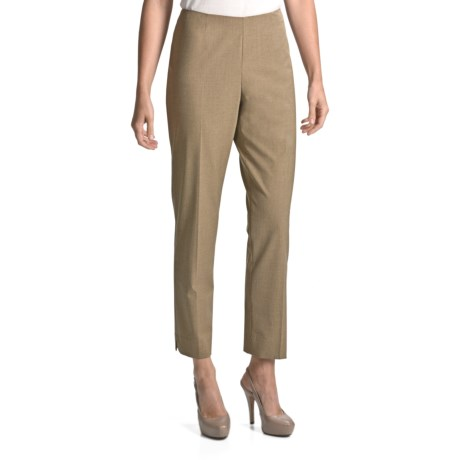 Peace of Cloth Panticular Lisa Ankle Pants - Mini-Check (For Women)