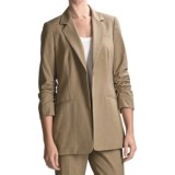 Peace of Cloth Panticular Lizzy Mini-Check Jacket - 3/4 Sleeve (For Women)