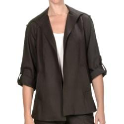 Peace of Cloth Panticular Deirdre Swing Jacket - Monaco Twill (For Women)